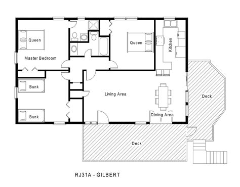 floor plans for homes one story 1 story house floor plans home deco plans