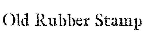 free font rubber st handwriting draft free version font