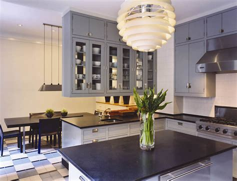 grey blue kitchen cabinets gray blue kitchen cabinets contemporary kitchen thom