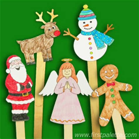 puppet craft for stick puppets crafts firstpalette