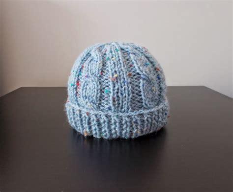 baby knit hat birthday cake knit baby hat allfreeknitting
