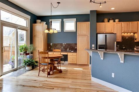 best light color for kitchen top 5 colors for oak kitchens bungalow home staging