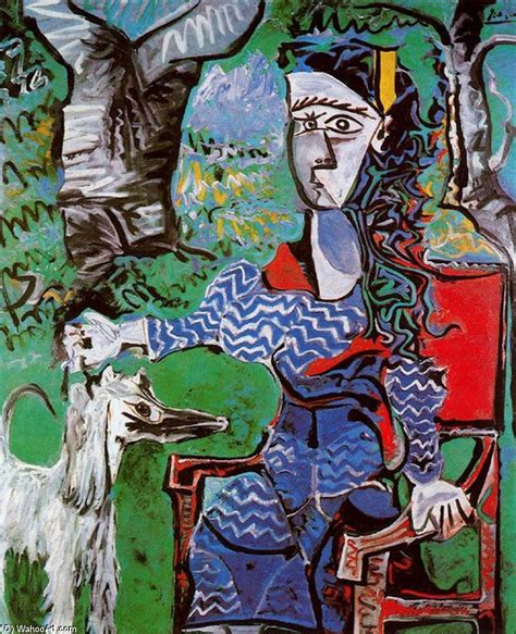 picasso painting yard sale quot with a tree quot by pablo picasso 1881