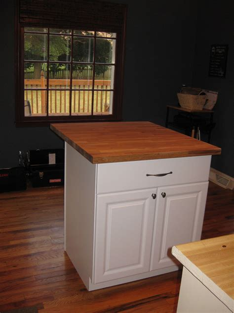 What Are Kitchen Cabinets Made Of diy kitchen island tutorial from pre made cabinets