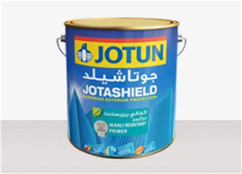 acrylic paint jotun jotashield alkali resistant primer