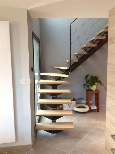 escalier quart tournant milieu dans le gard