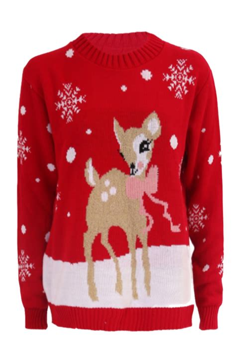 novelty knitted jumpers novelty reindeer snowflakes