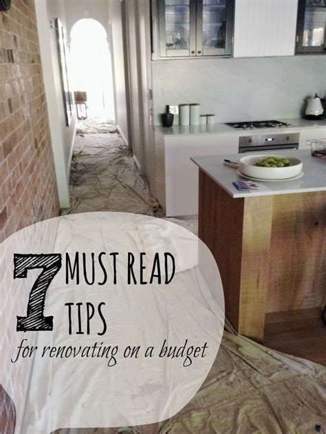 renovating a small house on a budget 25 best ideas about house renovations on home