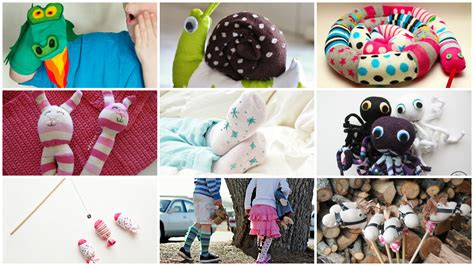 sock crafts for 10 simple sock crafts for
