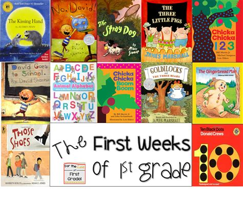 1st grade picture books for the of grade back to school with books