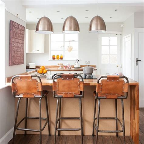 industrial style lighting for a kitchen 24cm copper tri ply stockpot best bar stools kitchen and