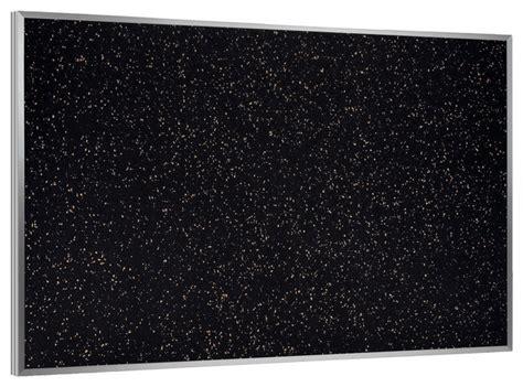 Aluminum Frame Recycled Rubber Bulletin Board Confetti