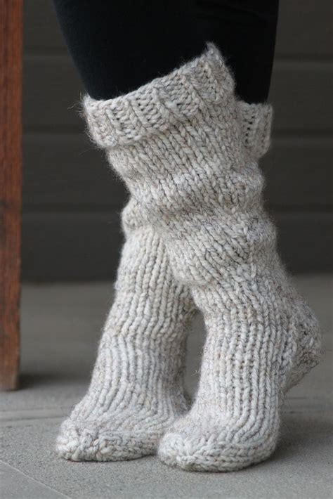 Ravelry Bean4680 S Chunky Boot Socks I Just Want