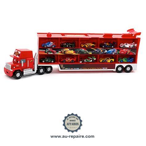 camion mack cars 2 parlant 10 voitures miniatures de course au repaire des bonnes affaires