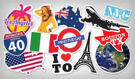 Car Wall Stickers travel stickers stickeryou products