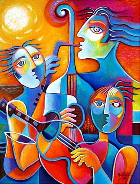 is painting 40 excellent exles of cubism works
