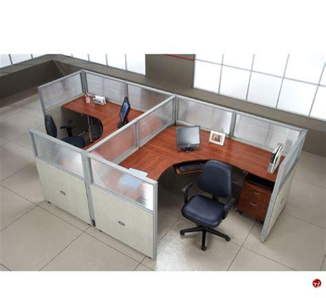 office desk cubicle the office leader 2 person l shape office desk cubicle