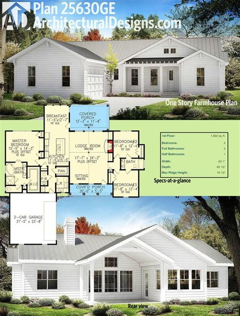 1 story home plans 25 best ideas about one story houses on one