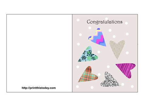 how to make a congratulations card free printable wedding congratulations cards