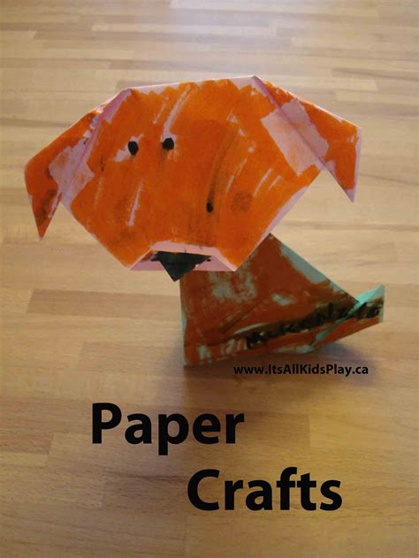 all free paper crafts arts and crafts for it s all kid s play