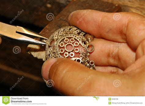 where to buy gold to make jewelry craftsman gold jewelry royalty free stock images
