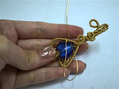 wire wrapping wire wrapped pendants 42 interesting designs guide patterns