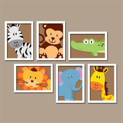 animal wall decor for nursery safari animal wall animal nursery artwork zoo jungle