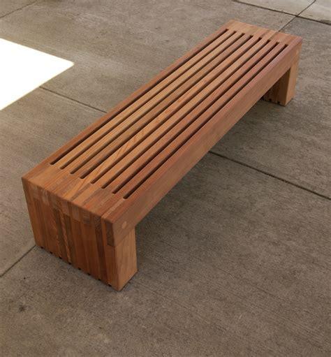 modern woodworker contemporary wood bench pollera org