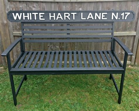 shabby chic garden bench take a look at this white hart shabby chic garden bench