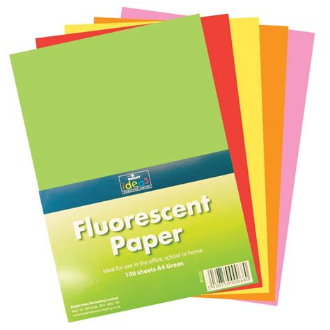 card paper packs fluorescent paper pack 100 sheets card paper from