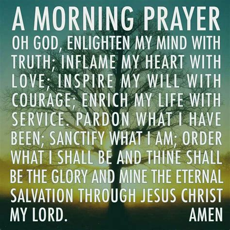 prayer christian morning prayer vidablogg