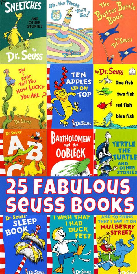 dr seuss books pictures 25 fabulous dr seuss books for childhood101