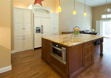 kitchen island with microwave does anyone regret installing your microwave in your kitchen island and why