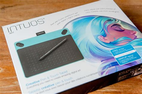 intuos review wacom intuos we review the tablet blanc creative