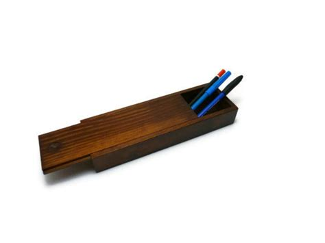 best pencil for woodworking wood pencil slide top box