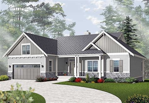 ranch house plans airy craftsman style ranch 21940dr architectural designs house plans