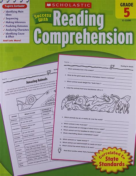 scholastic success with reading comprehension grade 3 scholastic reading comprehension grade 4 pdf scholastic
