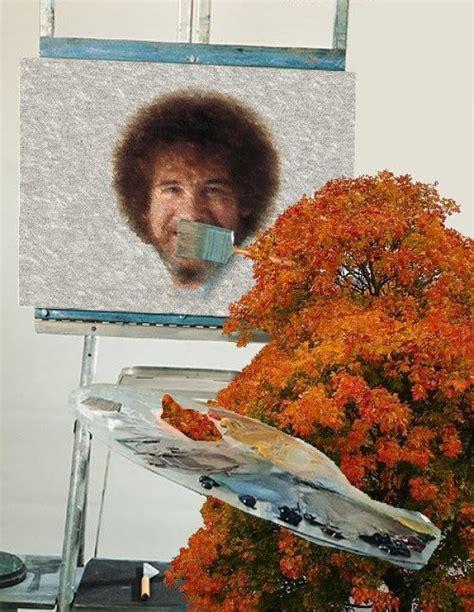 bob ross the happy painter happy tree painting bob ross collegehumor post