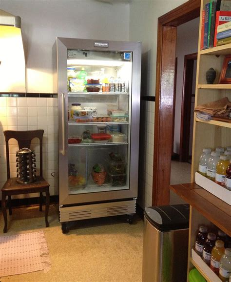 home refrigerator with glass door simple glass door refrigerator use for a small living