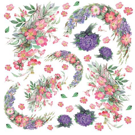 purple decoupage paper purple flowers paper for decoupage sonja servietten shop