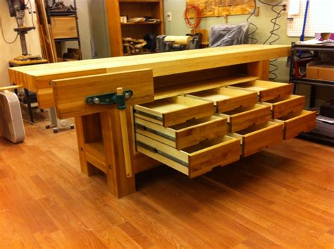 taunton woodworking workbench bombproof not so well of