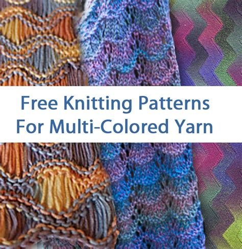multi color sweater knitting pattern multi colored yarn free knitting patterns in the loop