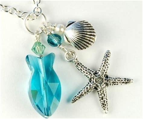 swarovski jewelry ideas swarovski swimming fish necklace jewelry design ideas