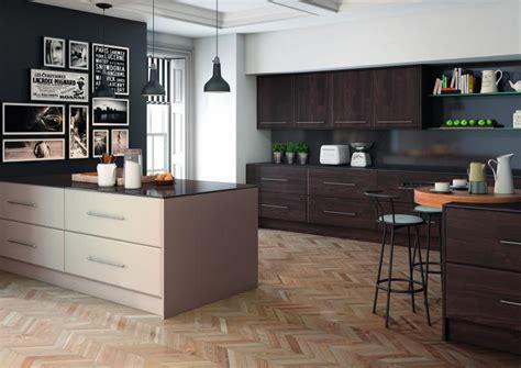 Kitchen Designs With Black Cabinets pisa kitchen in burnt oak and matt cashmere