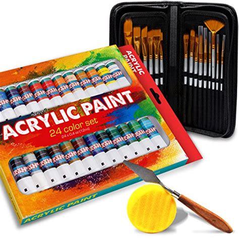 acrylic paint kit 57 acrylic paint kit 24 pieces vibrant colors