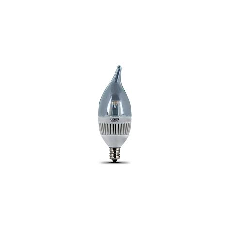 led chandelier bulbs dimmable feit electric cfc dm led dimmable chandelier bulb 130
