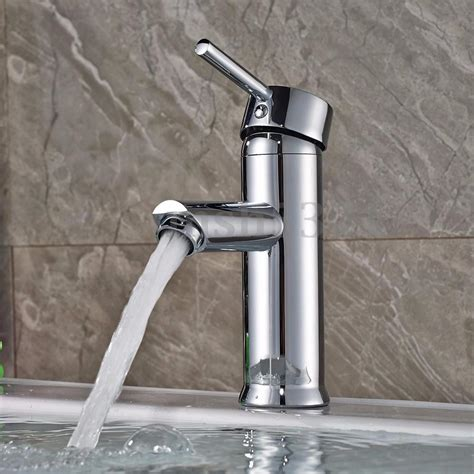 kitchen sink water taps bathroom basin sink mixer tap brass chrome faucet single