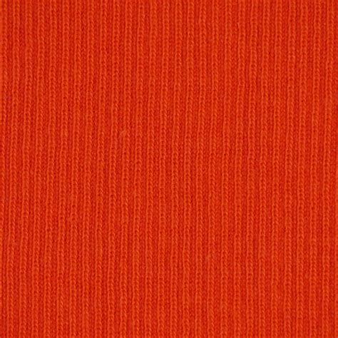 heavy cotton knit fabric rib knit fabric portland orange heavy weight cotton