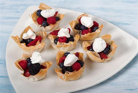 dessert cups with fresh fruit kidney friendly recipes davita