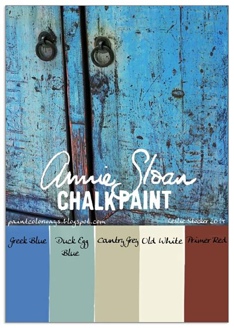 chalk paint colors distressed best 25 blue ideas only on sloan